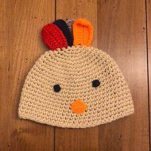 Thanksgiving Turkey Hat for Baby